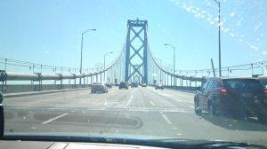 Approaching Bay Bridge