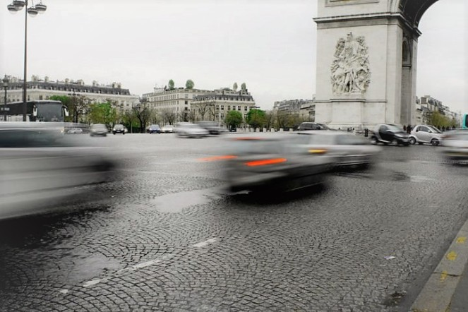 In April 2011, we visited Paris for the first time