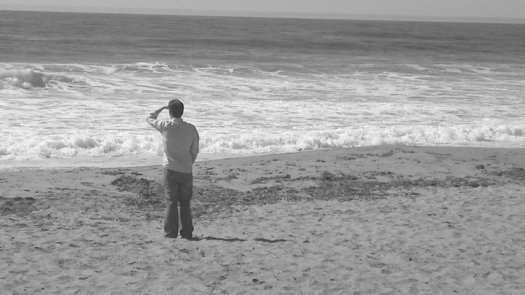Chris at Moss Beach