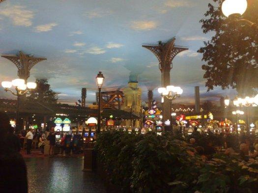 The Paris casino in Las Vegas