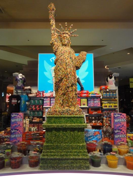 Jelly Bean Statue of Liberty, NYNY, Las Vegas
