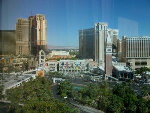 View from Mirage Hotel Room 1