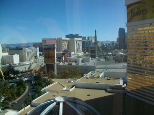 View from Mirage Hotel Room 2