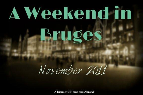 Bruges Nov 2011