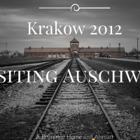 Krakow, 2012 (Part 2) - Visiting Auschwitz and Cheerier Anniversary celebrations