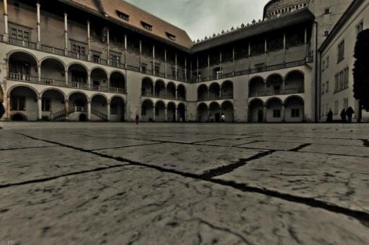 Royal Courtyard at Wawel Castle