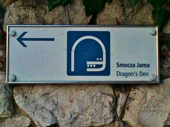 Smok the Dragon - villain of Krakow folklore