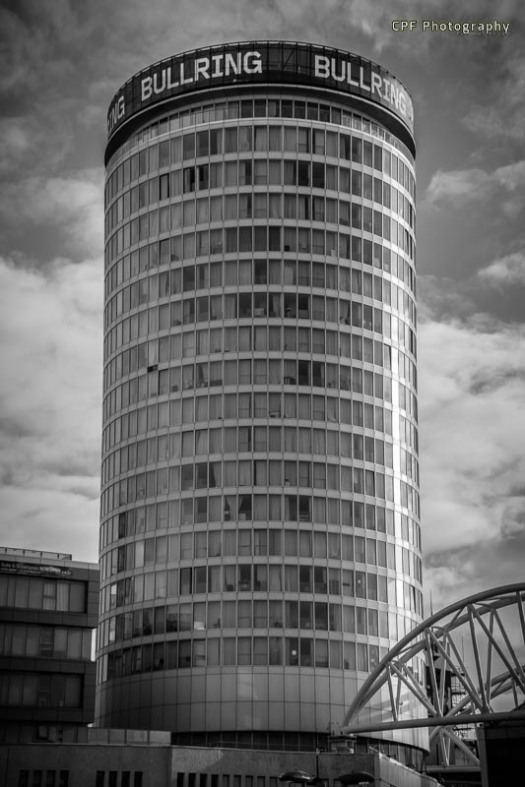 The famous Rotunda, Birmingham, by CPF Photography