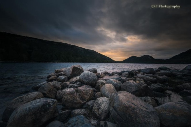Late afternoon at Jordan Pond - CPF Photography