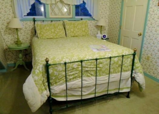Super comfy bed at Aysgarth Station