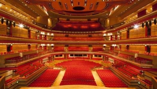 Birmingham Symphony Hall awaits.  Photo from thsh.co.uk