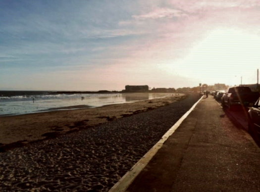 The beach at Kennebunkport