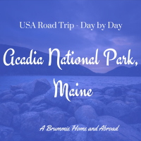 USA Sept 2013: Discovering Maine - Bar Harbor and Acadia National Park