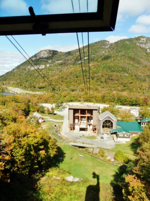 Ascending Cannon Mountain!