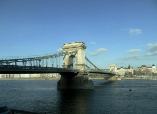 Chain Bridge, Danube, Budapest