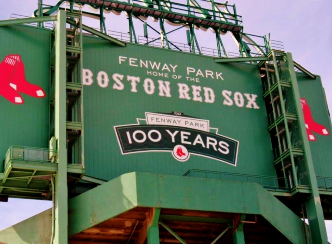 Fenway Park - Home of the Red Sox!