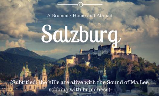 Salzburg, September 2014, the fortress overlooks Salzburg