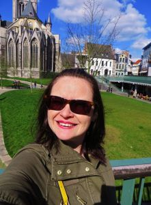 Selfie At Saint Nicholas' Church, Ghent.