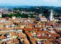 Views from Torre Dei Lamberti Verona.