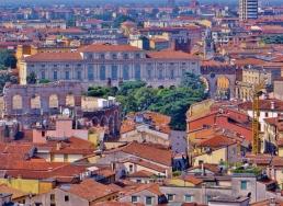 Views from Torre Dei Lamberti, Verona.