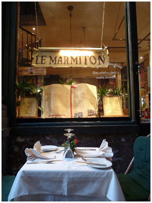 Le Marmiton, Brussels