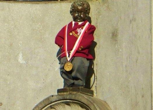 Mannekin Pis, Brussels