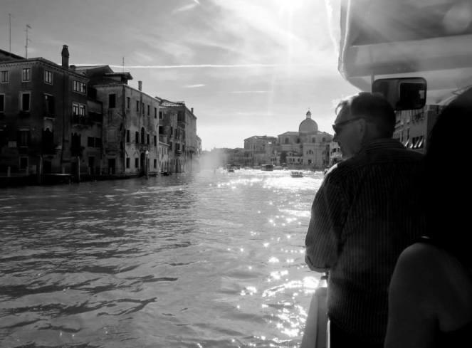 Vaporetto, Grand Canal, Venice