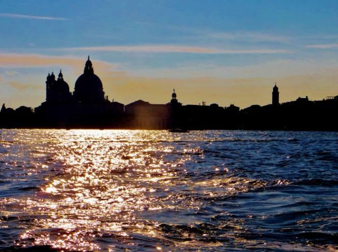 Venice skyline from San Giorgio Maggiore