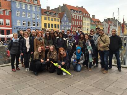 Copenhagen Free Walking Tour at Nyhavn