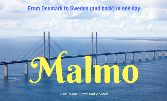 The Oresund Bridge, linking Copenhagen and Malmo