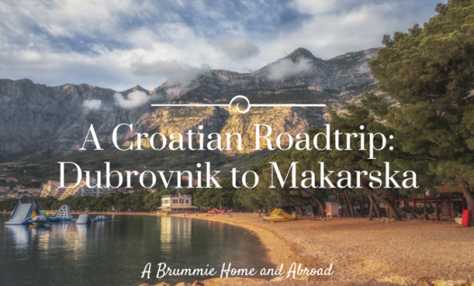 Today we pick up our rental car and head west to the Makarska Riviera