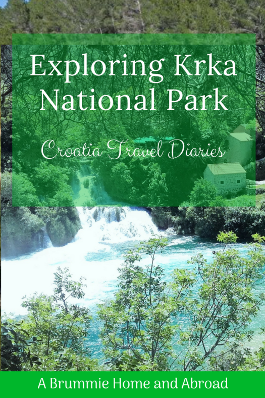 Krka National Park, Croatia, waterfalls
