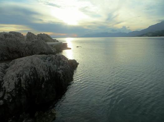 Settling down for a Makarska sunset