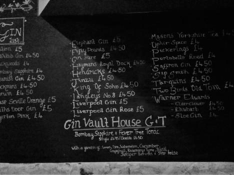 the gin vault birmingham