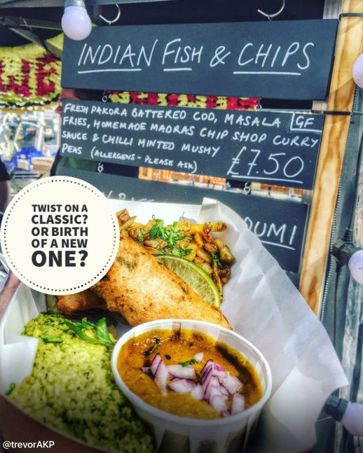 English Indian fish and chips