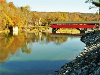 Lincoln Covered Bridge, Vermont