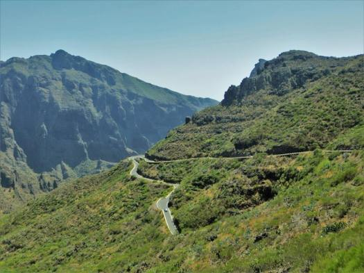 Windy roads, Masca Valley, Tenerife