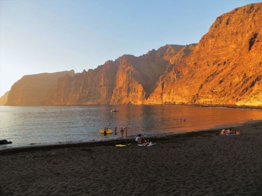 Sunset, Beach, Los Gigantes