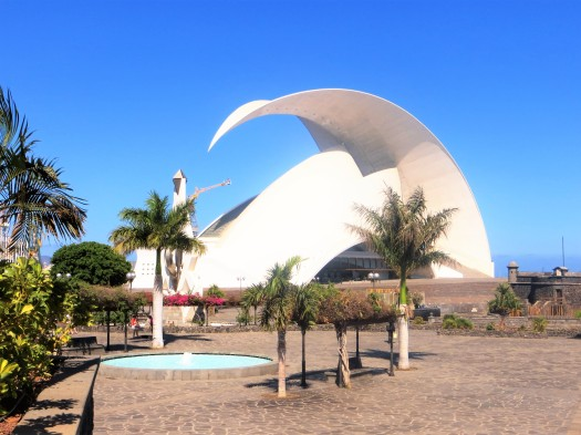 The Auditorio de Tenerife, Santa Cruz