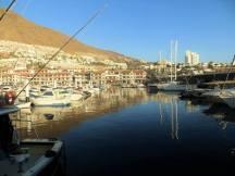 The quayside, Los Gigantes, Tenerife