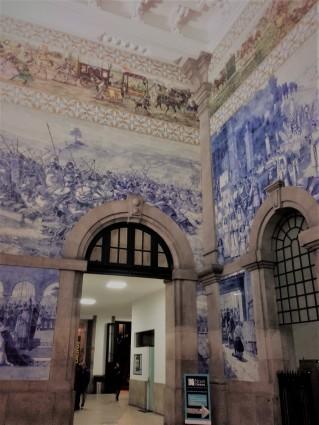 Sao Bento Railway Station, Porto, Portugal