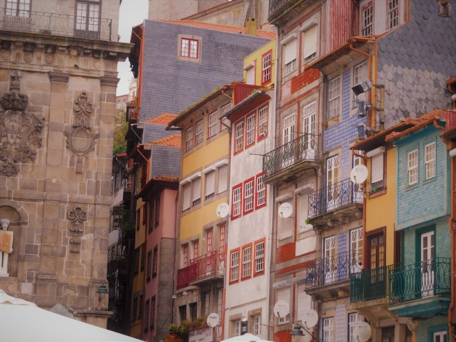 Praca de Ribeira. Porto