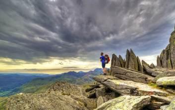 Mount Snowdon, Snowdonia National Park, North Wales
