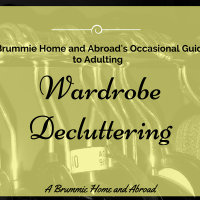 A Brummie Home and Abroad's Occasional Guide to Adulting: Wardrobe Decluttering