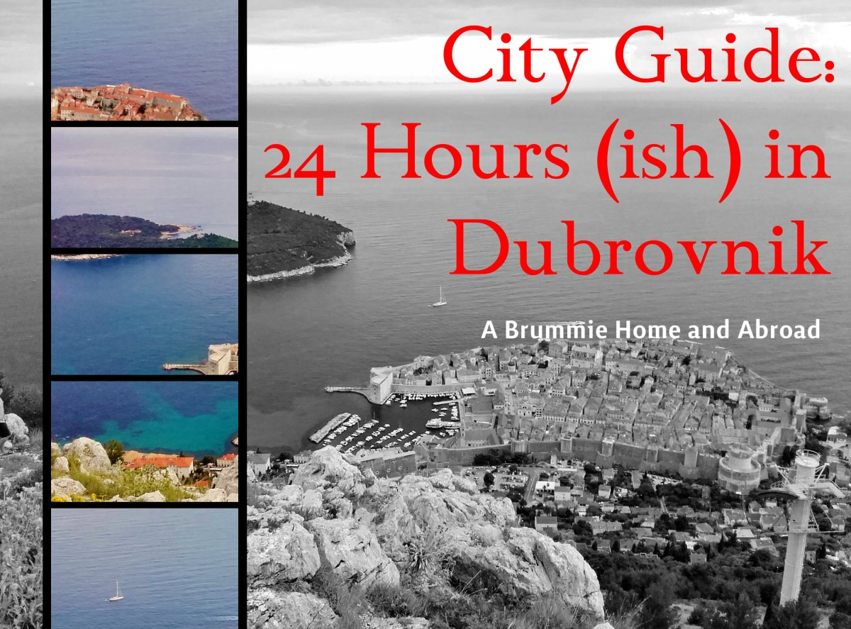 City Guide: 24(ish) hours in Dubrovnik