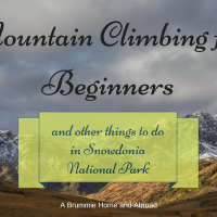 Mountain Climbing for Beginners and other things to do in Snowdonia National Park