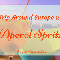 A trip around Europe in Aperol Spritzes...