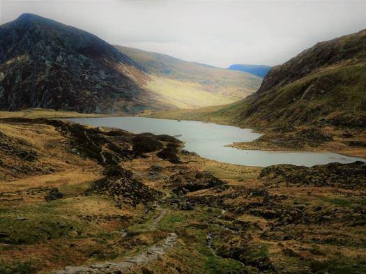 Hiking in North Wales - Cwm Idwal