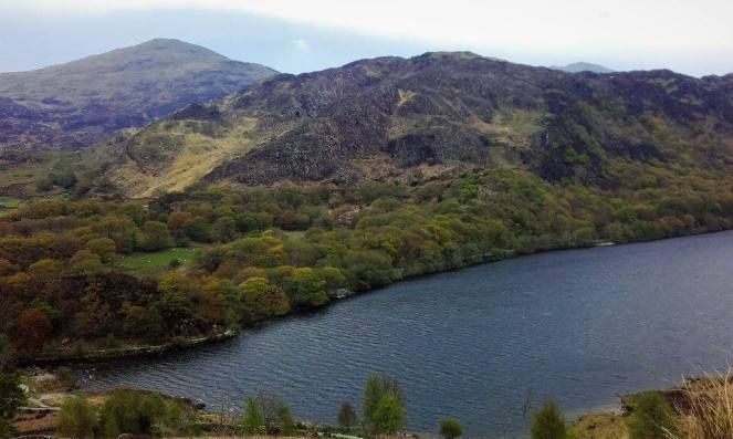 Hiking in North Wales - Llyn Dinas, Cwm Bychan and Aberglaslyn Pass