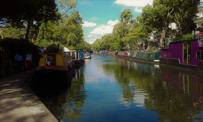 Little Venice is where Regents Canal meets the Grand Union Canal - we could have walked all the way back to Brum!